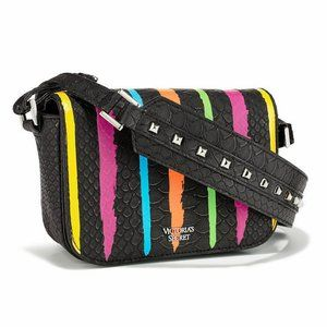 Victoria's Secret Rainbow Studded Crossbody Bag